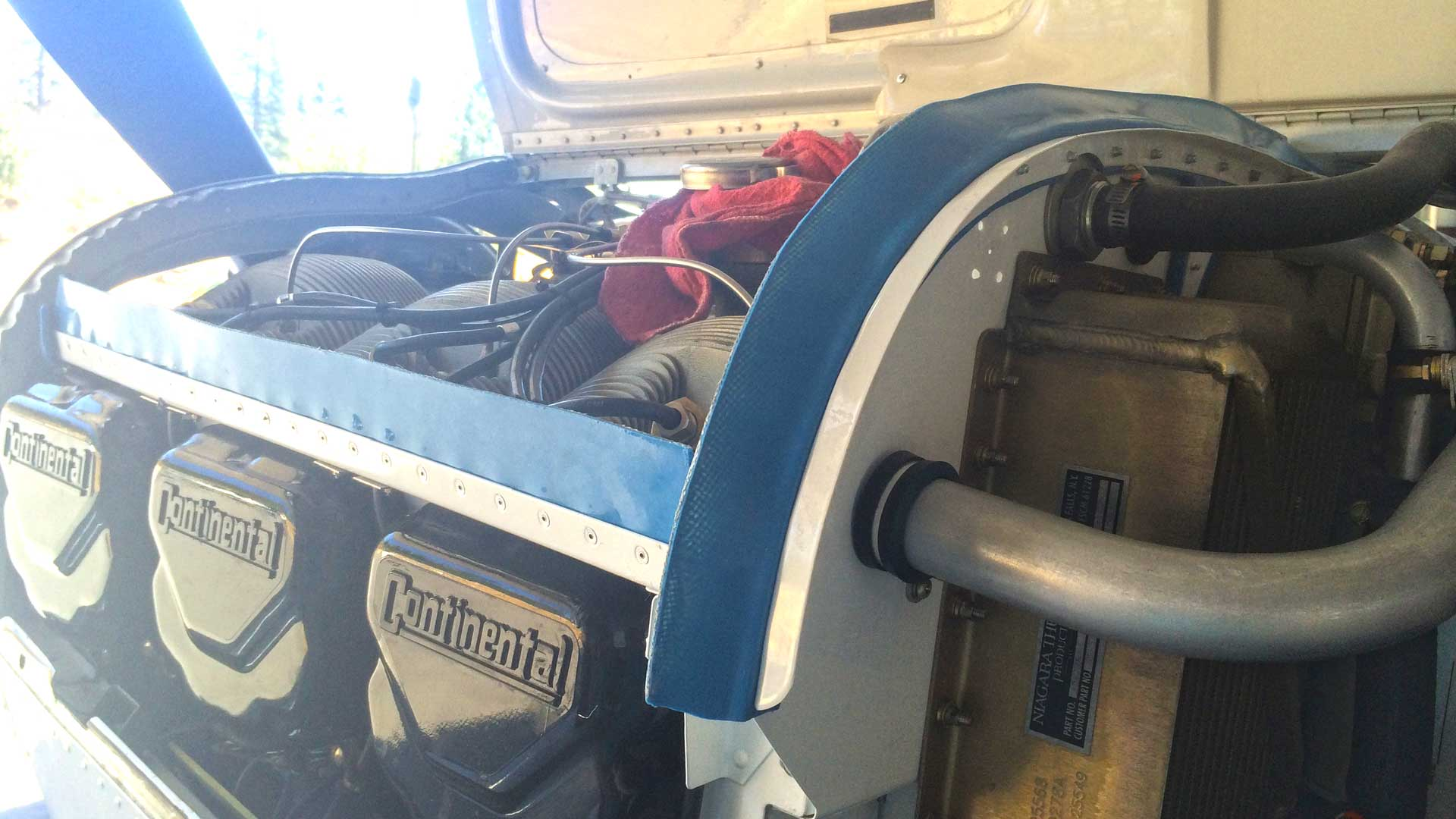 Engine Cooling Baffles - D'Shannon Aviation